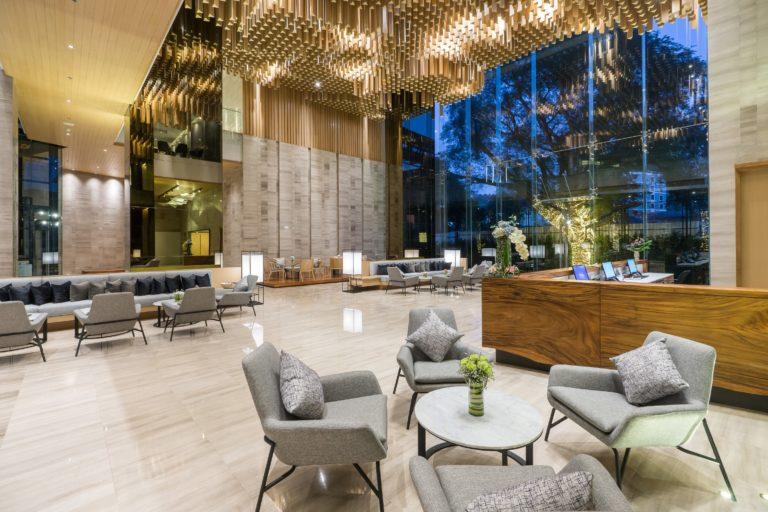 Arize Hotel Sriracha : Lobby